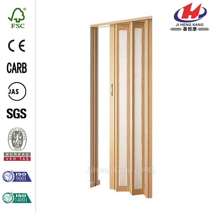 JHK- B01 Karaoke Room Design Shutters Interior Accordion Door
