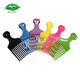 Hair Salon Custom Color Plastic Pick Up Afro Comb
