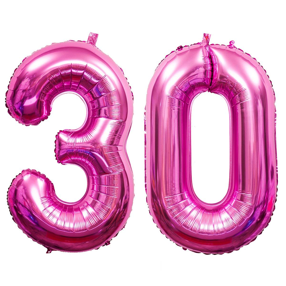 Get Quotations 40 Inch 30th Birthday Balloons 3 And 0 Mylar Balloon Jumbo Foil Helium For