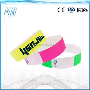 YN - 4100 Wholesale cheap waterproof tyvek wristbands,paper wrist band for events