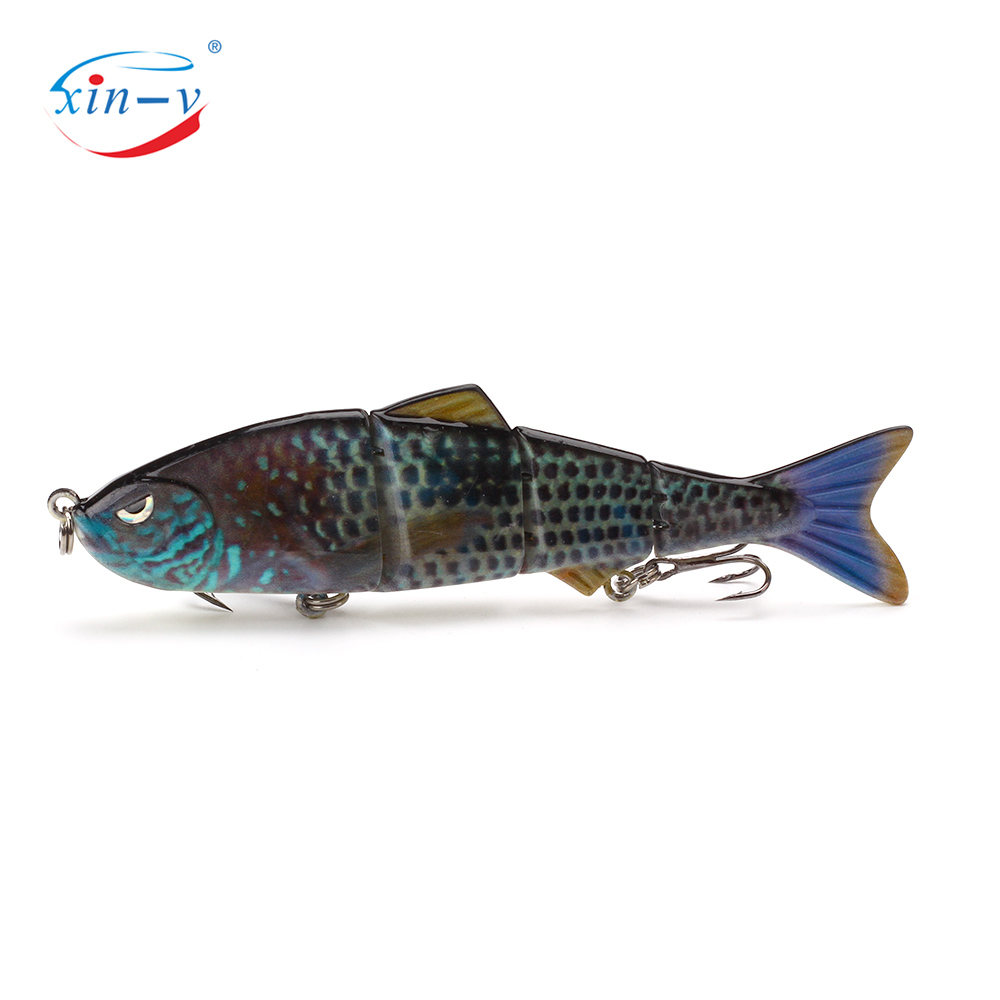XINV Fishing Lure Molds 4 Section Swimbait Wholesale Fishing Tackle