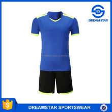 New Model 150Gsm Quick-Fit Polyester Soccer Jersey