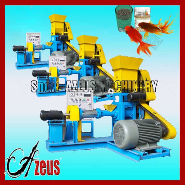 best selling flower horn fish feed machine