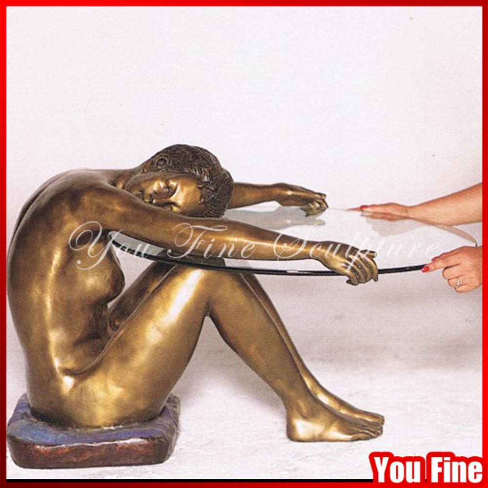 Moderne Statue En Bronze Bronze Sculpture Table Basse Bronze Table Jambes Buy Pieds De Table En Bronze Pieds De Table En Metal Pieds De Table Basse