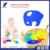 Birthday Gift Elephant Shape Silicone Baby Teether Toy