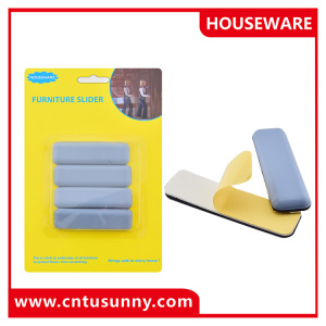 Heavy duty moving pad adhesive plastic slider teflon furniture slider