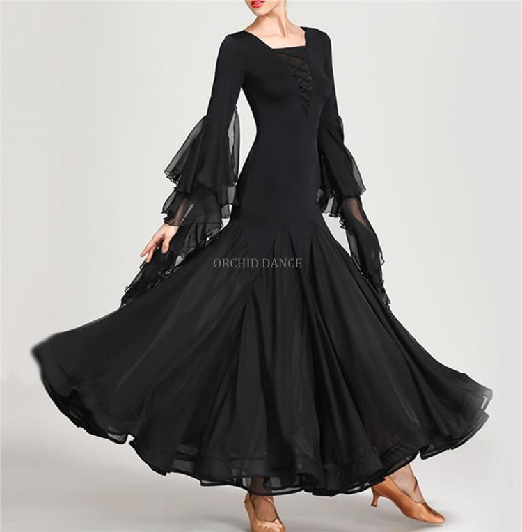 eaa1752fe4e0 China Black Dance Dress