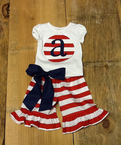 wholesale girl clothing newborn cute fourth of july outfits patriotic clothing for juniors baby girls clothes set