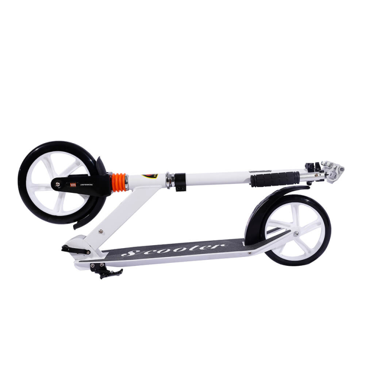 New Style 200mm PU wheels large kick scooters adult skate scooter bike