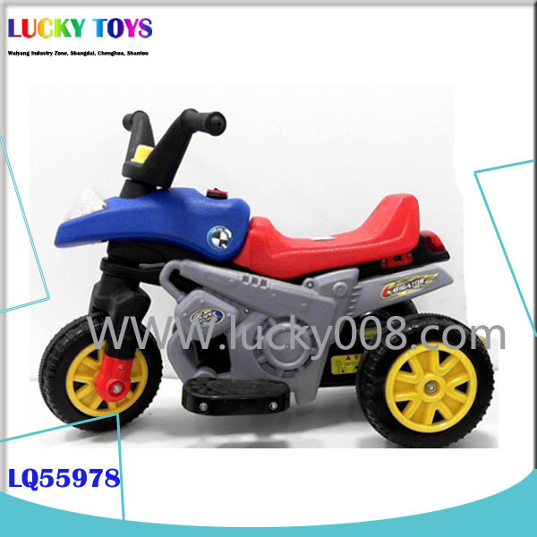 3wheel Children Electric Motorcar Ride On Car Toys Motorcycle For ...