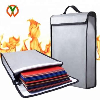 Custom Logo Fireproof Doent Money Safe Waterproof Bag Product On Alibaba