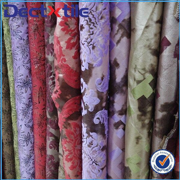 Polyester curtain fabrics turkey with covers fabrics types of curtain fabrics