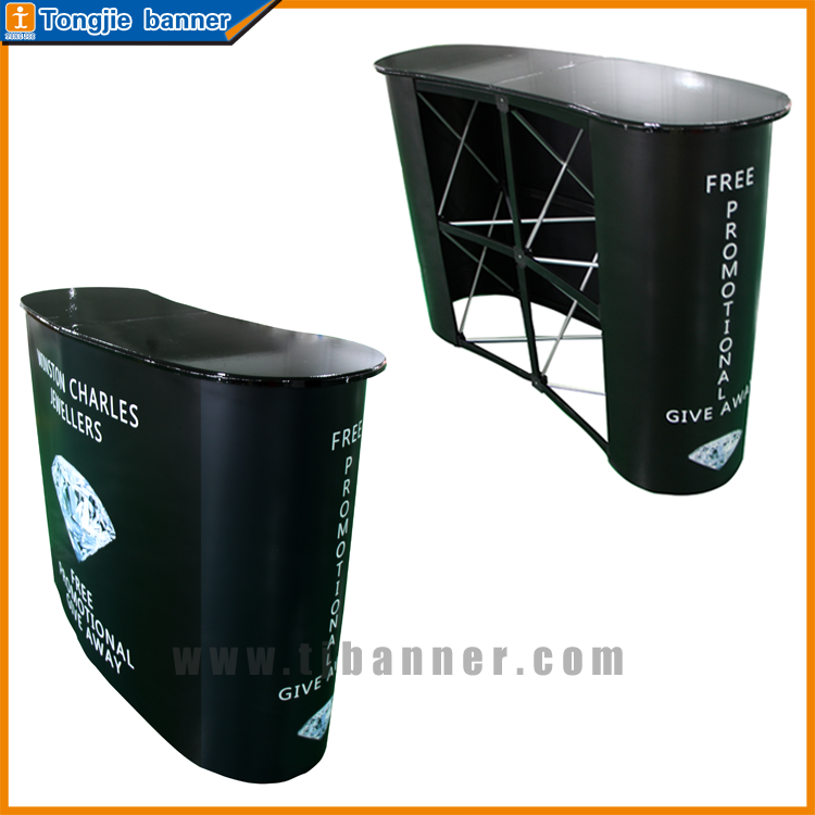 Colorful Customized Promotion Counter Booth For Supermarket