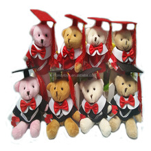 Manufacturing Stuffed Gifts Bouquet For Graduation Teddy Bear
