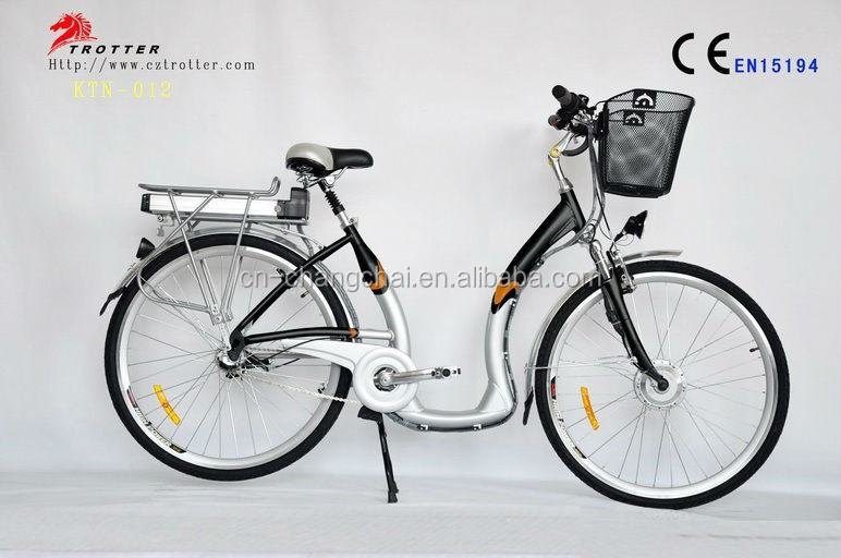 Europe Top Selling electric city bike 26 with CE EN15194 from china factory