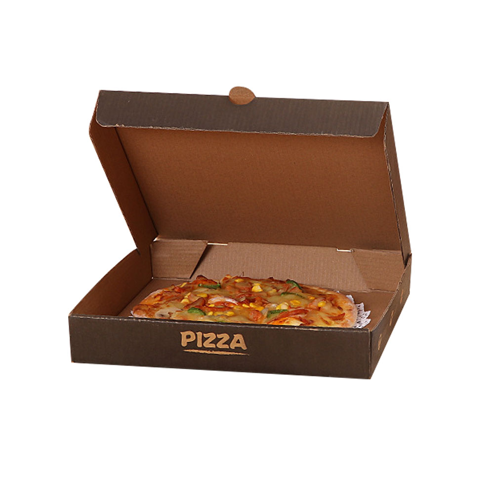 Wholesale recycled plain white and custom logo pizza box