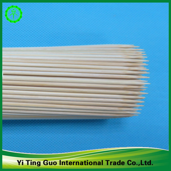 Bamboo Natural Color Bamboo Flower Stick Bamboo Skewer For Fruit ...