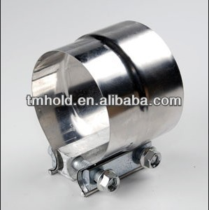 Manufactures of Truck Exhausts/ muffler clamp/stainless steel band clamps with Preformed Lap exhaust