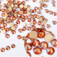 Excellent quality crystal rhinestone beads faceted flatback stone nail art
