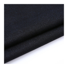 Plain colour high quality elastane knitted polyester viscose fabric