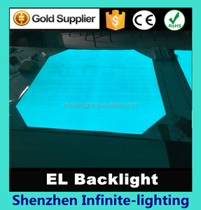 large size custom el backlight/ electroluminescent paper/ el panel - Glow Paper Neon Sheet