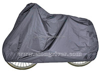 Grey Polyester Taffeta Bicycle Cover / Bike Cover