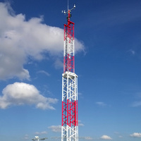 ICAO and FAA frp frangible weather mast for civil airport