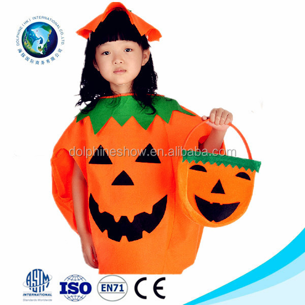 how to make a pumpkin costume for a kid