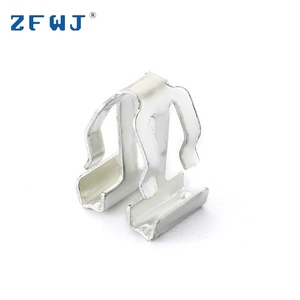 High quality safety spring steel strip metal band flexible clamp clip