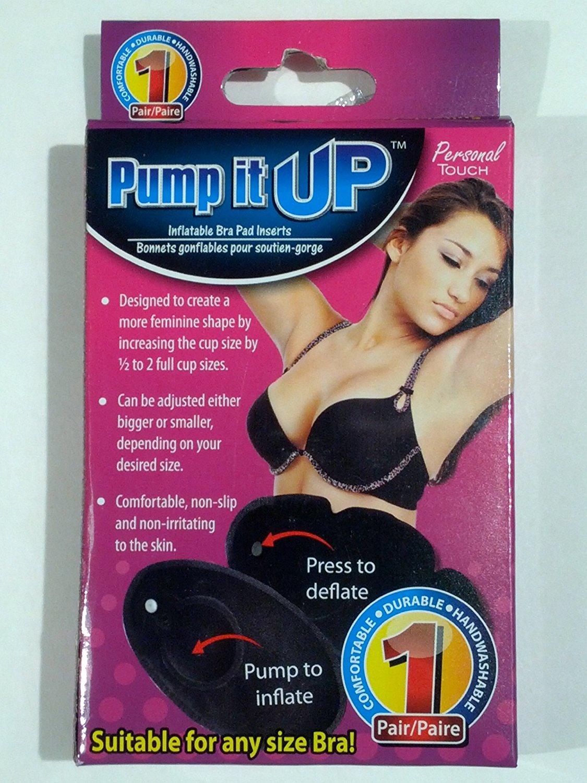 debdbcb77d Get Quotations · Pump It Up Inflatable Bra Pad Inserts