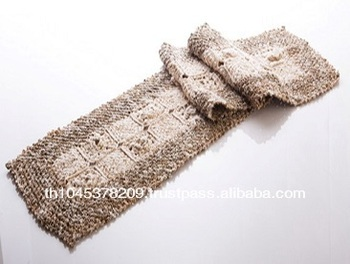 Handknitting Handmade Table Runner Made From Hemp Fiber With Rose Pattern    Buy Table Runner,Handmade,Handcraft Product On Alibaba.com