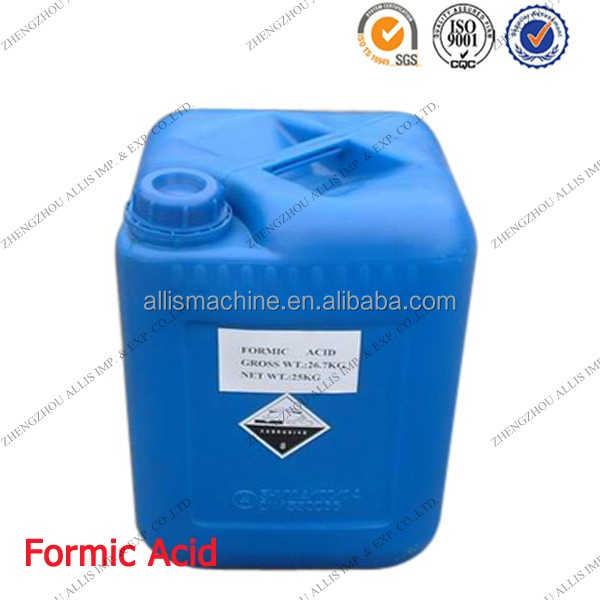 Pharmaceutical industry chemicals formic acid 99% for textile industry
