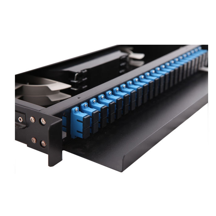 Çin üretici 4U patch panel 48 port lc fiber optik fiyat