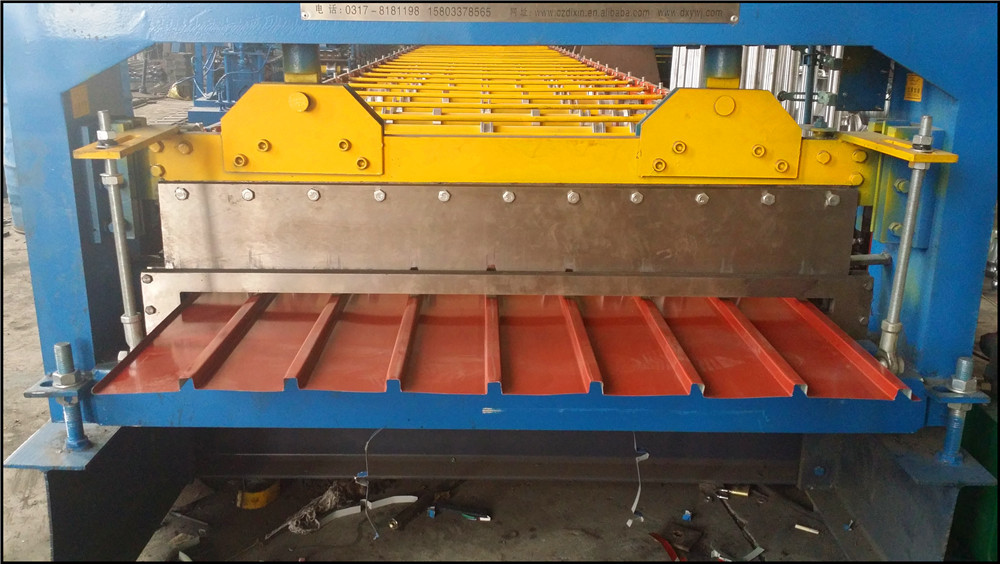 high speed European standard cold roll forming machinery