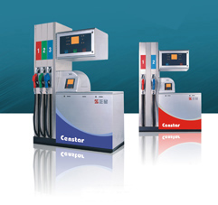 Gas filling station fuel dispenser pump