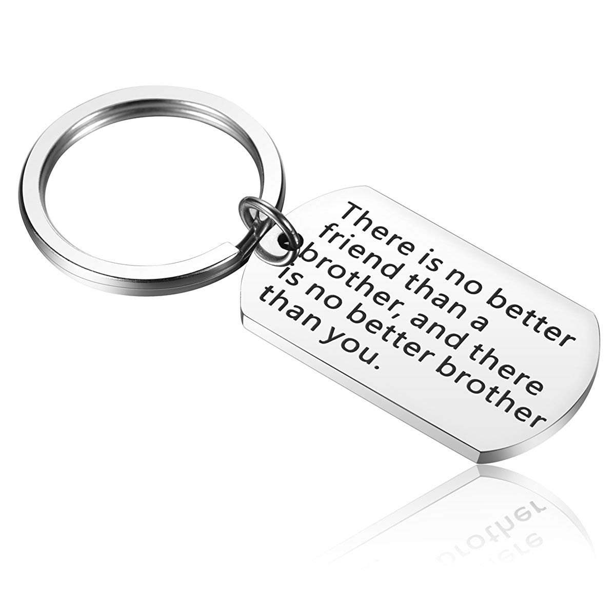 alxeani brother birthday gifts brother keychain big brother gifts for men little brother gifts