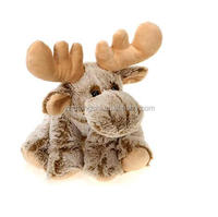 free samp handmade plush christmas toys sitting moose/ stuffed christmas moose plush toys