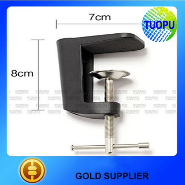 Aluminum alloy G clamps for Workbench Table,Table Light Clamps,Aluminum Adjustable clamps for Lamp