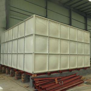 SMC Modular Panel Fiberglass frp water tank price