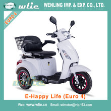 Top quality high performance harley electric scooter handicapped Electric Scooter E-Scooter E-Happy Life (Euro 4)