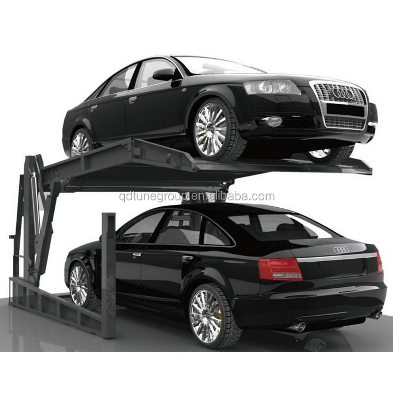 Portable Parking Garage >> Hot Sale One Cylinder Double Level 2 Post Car Parking Lift Home Used Parking Garage Portable Car Garage Buy Mobile Car Garage Car Stacker