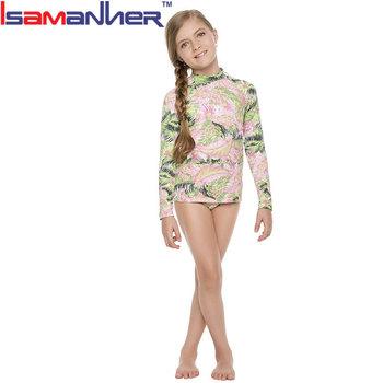 9575173581 Oem Fashion Long Sleeves Kids Bikini Swimwear,Kids Swimming Suit ...