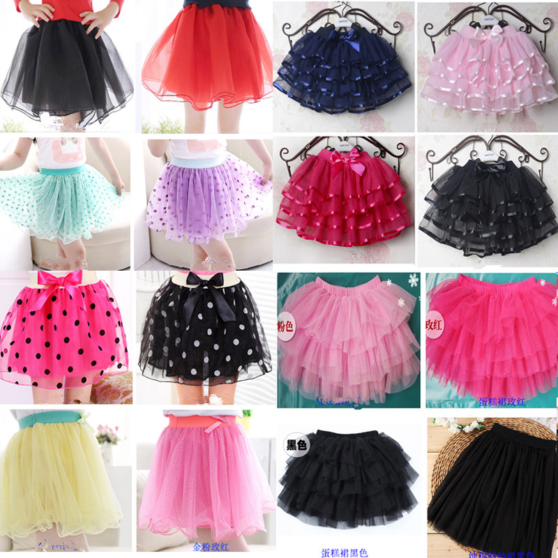 Z&M Breathable plain Dyed chiffon baby tutu skirt for girls for stage & Dancer Wear