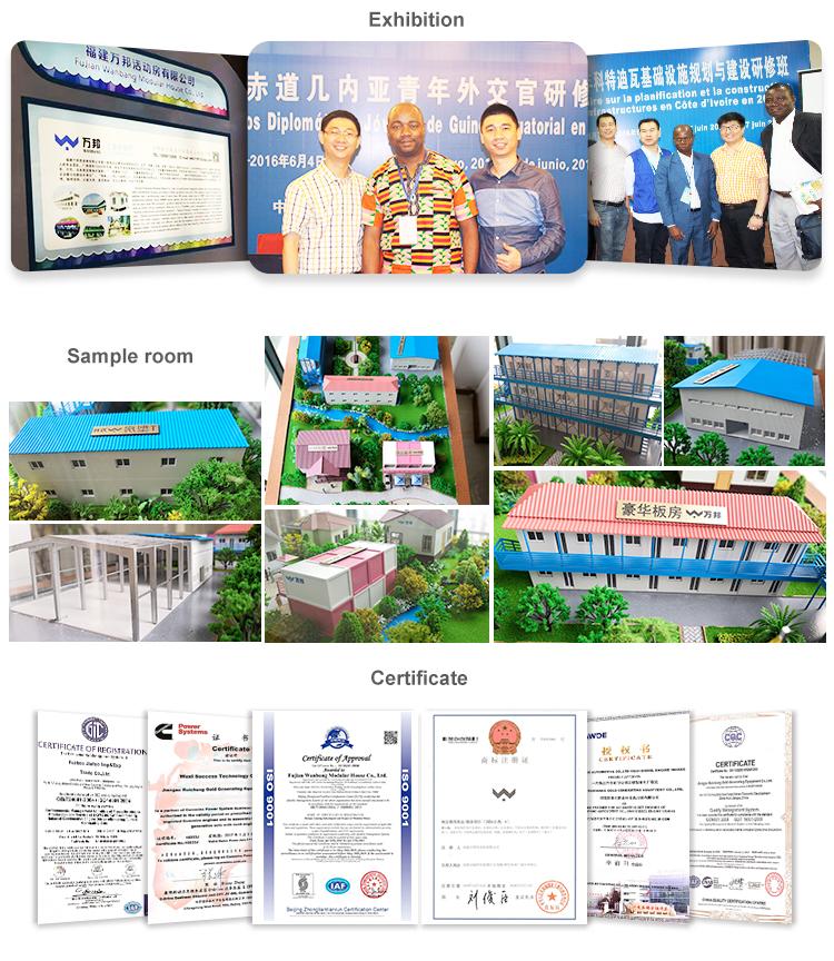 WANBANG Pré-fabricadas de Baixo Custo Casa do Recipiente de Motel
