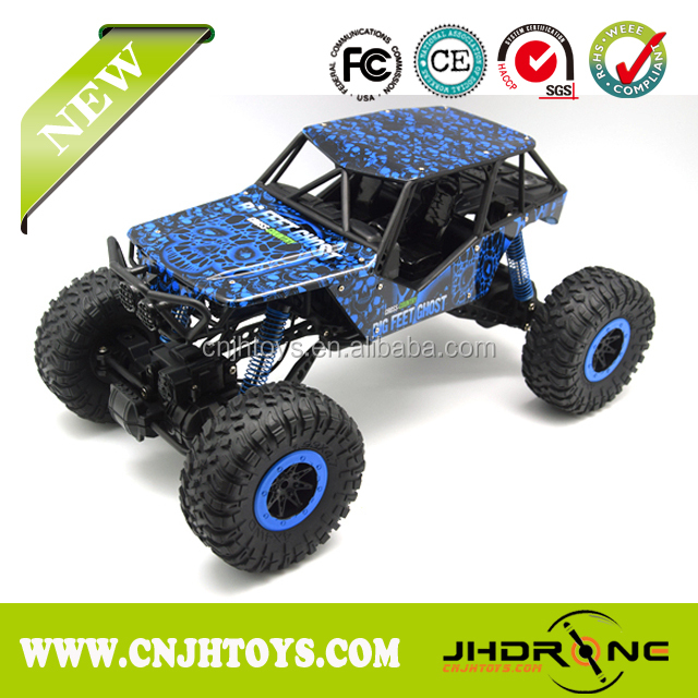 2016 New Rc Car R C Rock Crawler Climbing Truck Extreme Toys With Remote Control