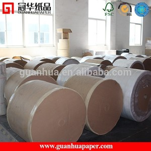 Premium quality adhesive thermal paper , jumbo roll thermal paper