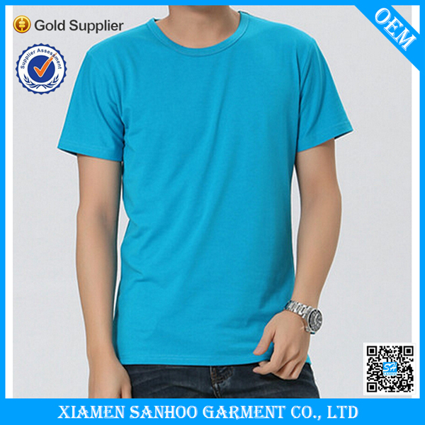 Manufacturer Promotion Cotton Plain Bulk T Shirt Custom Printing Made In China Oversized