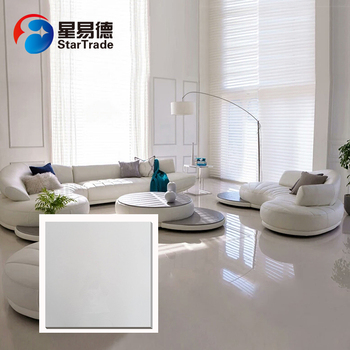 Best sell china supplier manufacture white polished rectified porcelain tile