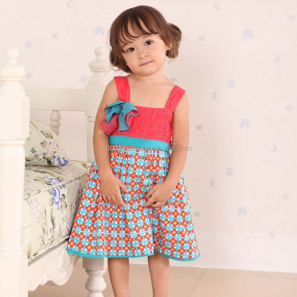 1-5 Year Short Sleeve Baby Cotton Frocks Designs,Baby Girl Dress ...