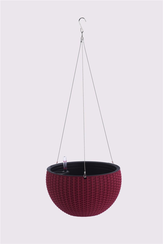 Leizisure Self Watering Rattan Hanging Flower Pots Buy